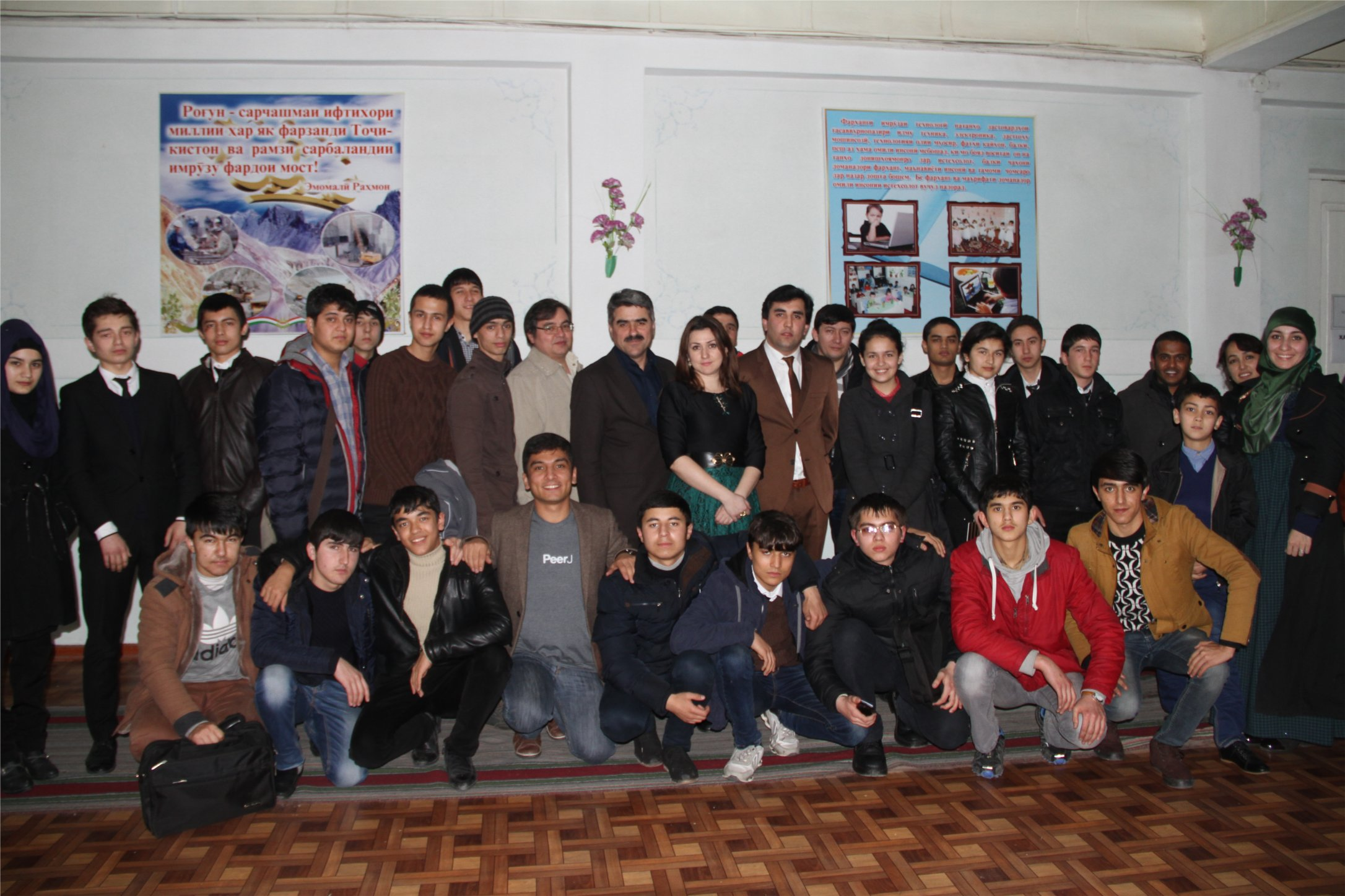 The Open Innovation Lab at Tajikistan
