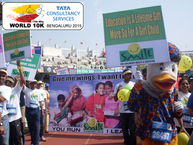 Run at the TCS World 10K and raise money for a cause!
